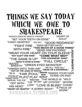 So Sayeth the Bard: Shakespeare