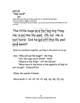 So Simple Sightwords Volume 1