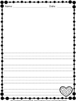"""So Sweet!"" 4-Square Writing Organizer for Beginning Writers ♥Freebie♥"