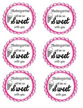 So Sweet Back to School Gift Tags