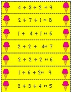 So Sweet! Math Center