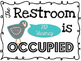 So TWEET Occupied Restroom Sign