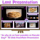 """Lent and Easter: """"So, Why Do We Have Pancakes On Shrove Tu"""