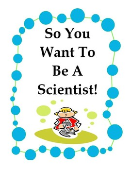 So You Want To Be A Scientist 10 Mini Poser Set in Color