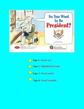 So You Want to Be President? Spelling