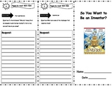 So You Want to Be an Inventor? Storytown Comprehension Trifold