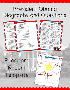 So You Want to be President Book Study Bundle