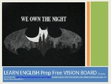 Learn English Lesson 2 Prep Free VISION BOARD