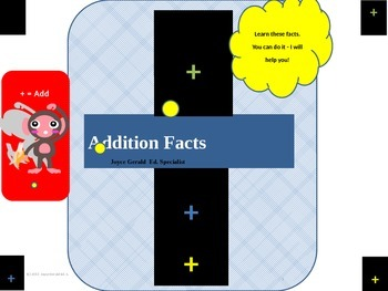 So you want to teach addition fact huh?
