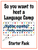 So you want to host a Language Camp - Starter Pack