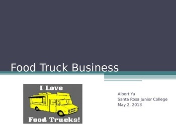 So you want to own a Food Truck