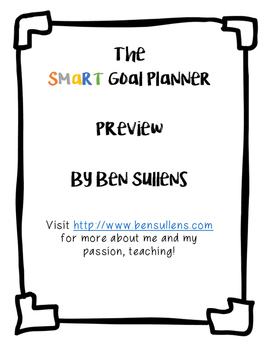So you want to write a SMART goal?