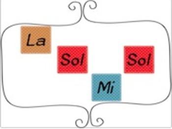 SoLaMi Iconic Notation Flashcards