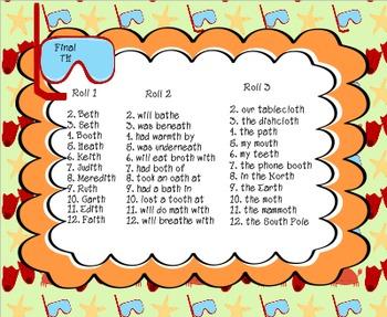 Soaking Up Summer Speech: Articulation Sentences Pack (R,S,L,SH,CH,TH)