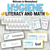Soap and Hygiene Math and Literacy Centers for Preschool