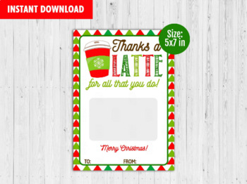 Thanks A Latte Printable Worksheets Teachers Pay Teachers