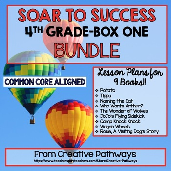 Soar To Success 4th Grade Bundle, Box 1, Books 1-9, Paired Passages