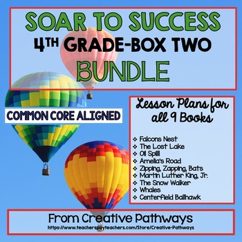 Soar To Success 4th Grade Bundle, Box 2, Books 10-18, Paired Passages
