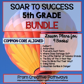 Soar To Success 5th Grade Bundle 9 Books Included And Paired Passages