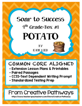 Soar To Success, Paired Passages, Standardized Testing Prep, Potato