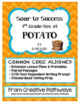Soar To Success, Paired Passages, Standardized Testing Prep, Potato