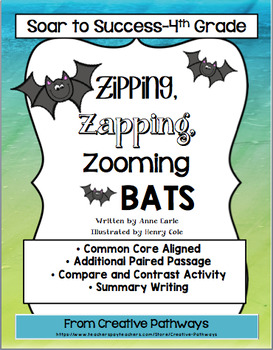 Soar To Success, Paired Passages,  Zipping, Zapping, Zooming Bats!