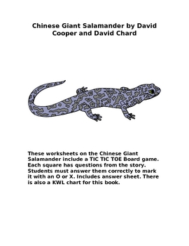 Soar To success Chinese Giant Salamander
