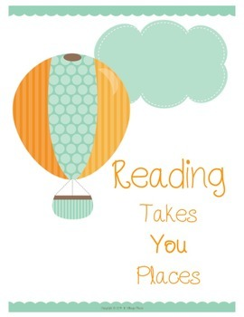 Soar With Reading - Free Sample Motivational Prints and Bookmarks