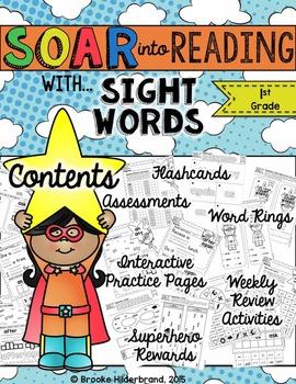 Soar into Reading: First Grade Sight Words Unit