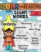 Soar into Reading: Preprimer Sight Words Unit