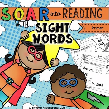 Soar into Reading: Primer Sight Words Unit