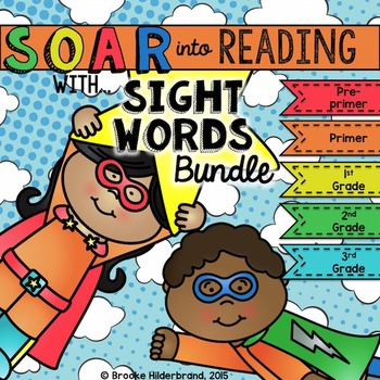 Soar into Reading: Sight Words BUNDLE