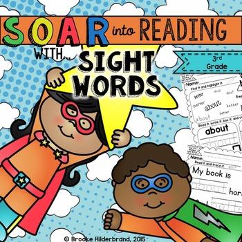 Soar into Reading: Third Grade Sight Words Unit