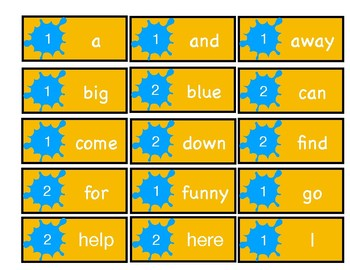 Soar to Learn Sight Words Game