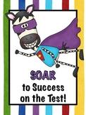 Soar to Success Test Prep Poster & Bookmarks