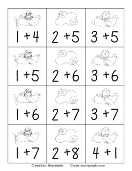 Soarin' For Sums: Addition Game Sums 1-10