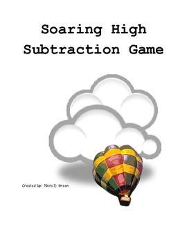 Soaring High Subtraction File Folder Center Game