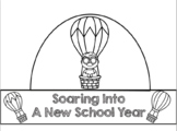 Soaring Into School Year Decorations and Crown