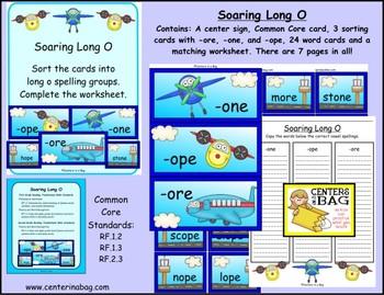 Soaring Long O (RF.1.2, RF.1.3, RF.2.3)