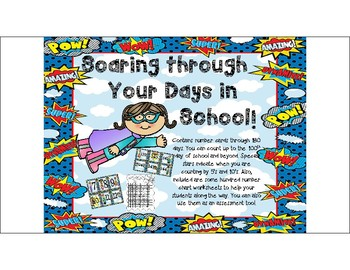 Soaring Through 180 Days of School!: A 100th Day of school and Beyond Activity.