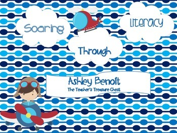 Soaring Through Math and Literacy Fun (8 Centers)