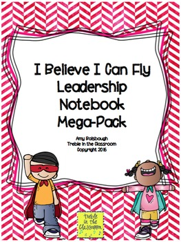 Soaring or Flying Themed Leadership Notebook