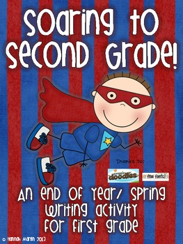 Soaring to Second Grade Writing Activity