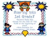 Super Heroes - End of the Year/Beginning of the Year Bulletin Board