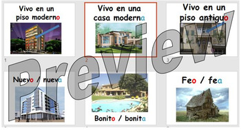 Sobre mi casa - describing what your house looks like