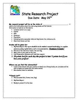 Soc. Studies state report