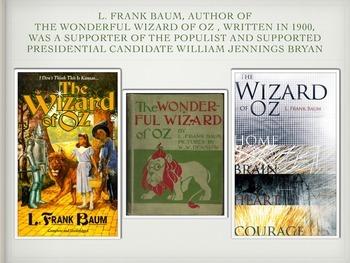SocIal Studies Wizard of Oz Allegory