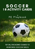 Soccer - 18 Activity Cards - Fun Drills & Games