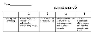 Soccer Assessments