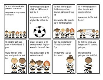 Soccer Auditory Comprehension